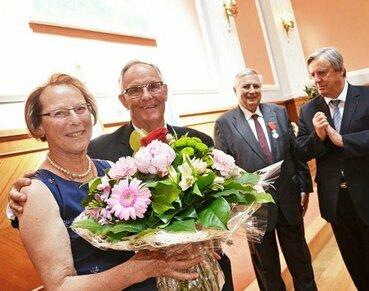 Claude Saunier est devenu Chevalier de la Légion d'honneur